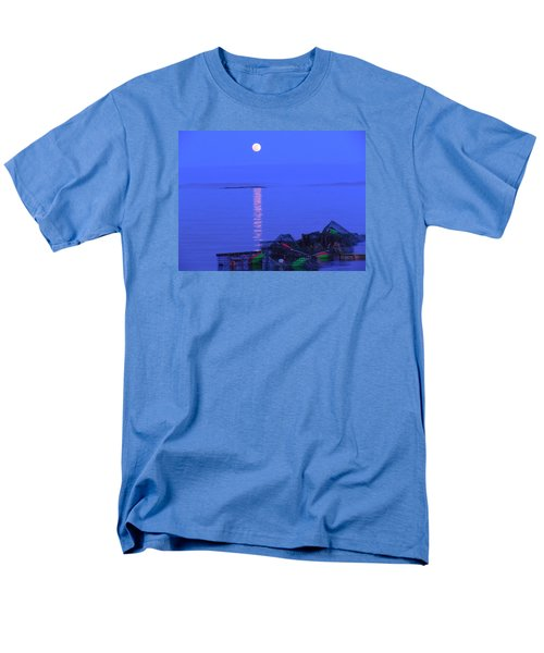 Lobstering Moon Men's T-Shirt  (Regular Fit) by Francine Frank