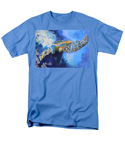 Save The Turtles Men's T-Shirt  (Regular Fit) by Warren Thompson