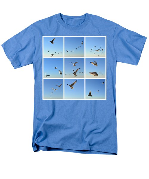 Seagull Collage 2 Men's T-Shirt  (Regular Fit) by Michelle Calkins