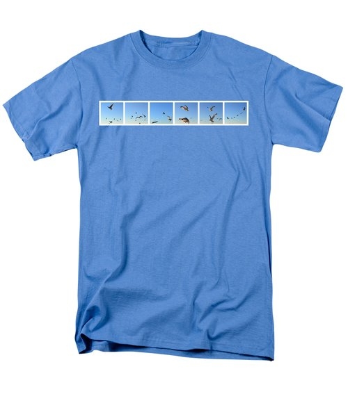 Seagull Collage Men's T-Shirt  (Regular Fit) by Michelle Calkins