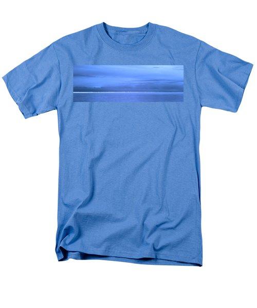 Men's T-Shirt  (Regular Fit) featuring the photograph Skyline Salton Sea by Hugh Smith