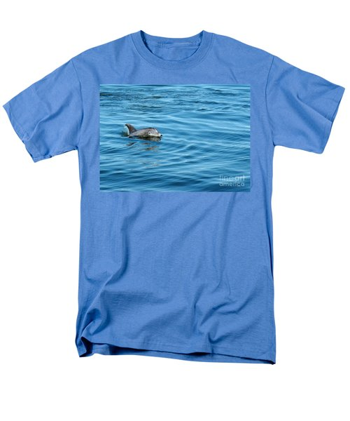 Smile Men's T-Shirt  (Regular Fit) by Sami Martin