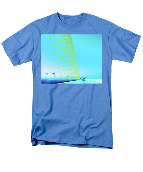 Men's T-Shirt  (Regular Fit) featuring the photograph Sunshine  Bridge by Lizi Beard-Ward