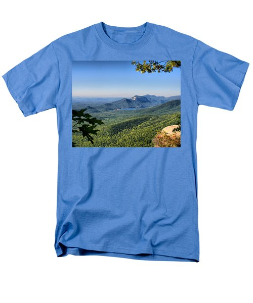 View From Caesar's Head Men's T-Shirt  (Regular Fit) by Lynne Jenkins