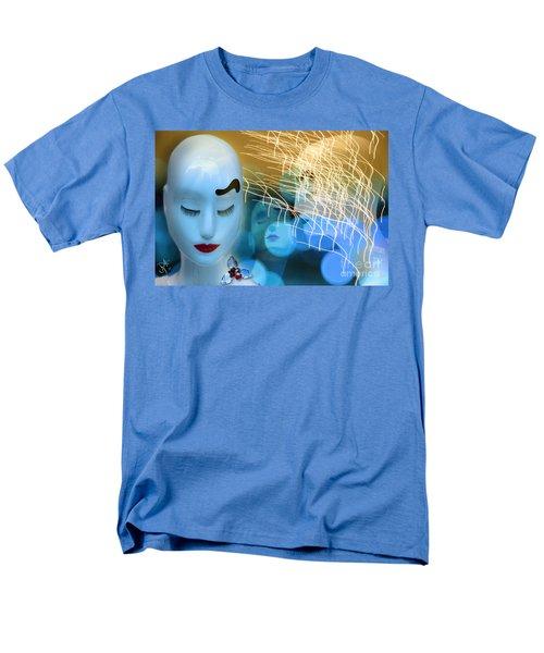 Virginal Shyness Men's T-Shirt  (Regular Fit) by Rosa Cobos