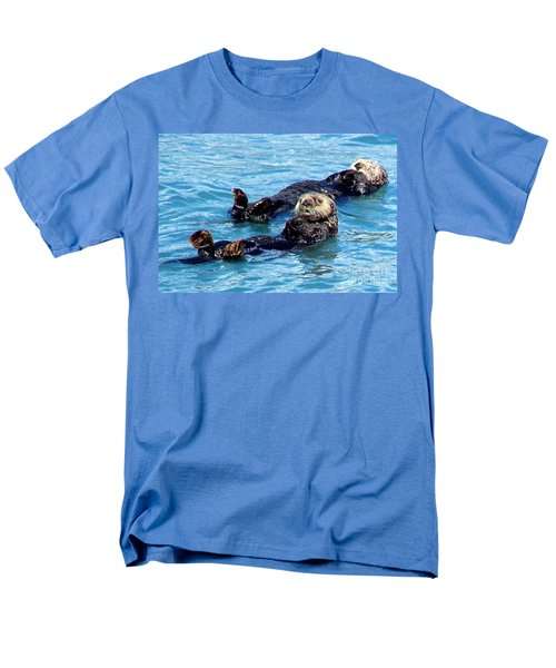Men's T-Shirt  (Regular Fit) featuring the photograph Whatchu Looking At by Kathy  White