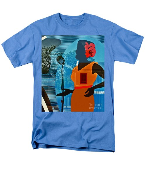 Men's T-Shirt  (Regular Fit) featuring the photograph Window To My Soul by Barbara McMahon