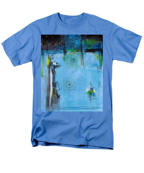 Men's T-Shirt  (Regular Fit) featuring the painting Winter by Nicole Nadeau