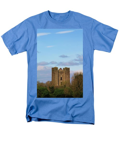 Dunsoghly Castle Men's T-Shirt  (Regular Fit) by Martina Fagan
