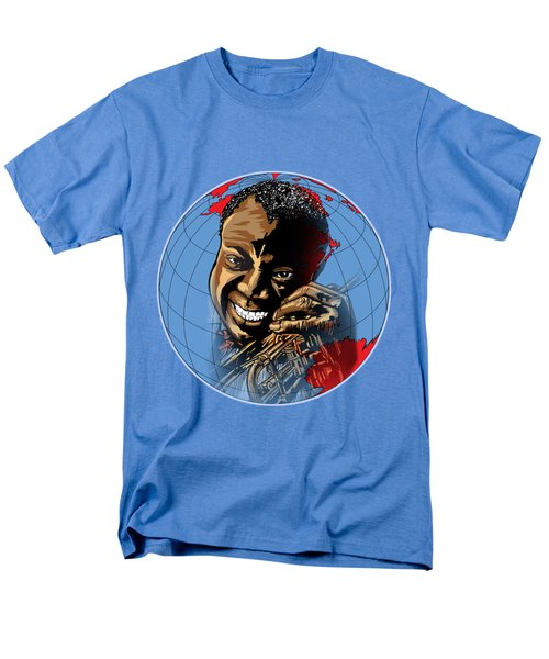 Men's T-Shirt  (Regular Fit) featuring the painting  Louis. by Andrzej Szczerski
