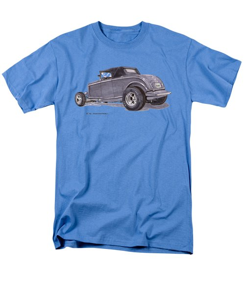 Men's T-Shirt  (Regular Fit) featuring the painting 1932 Ford Hot Rod by Jack Pumphrey