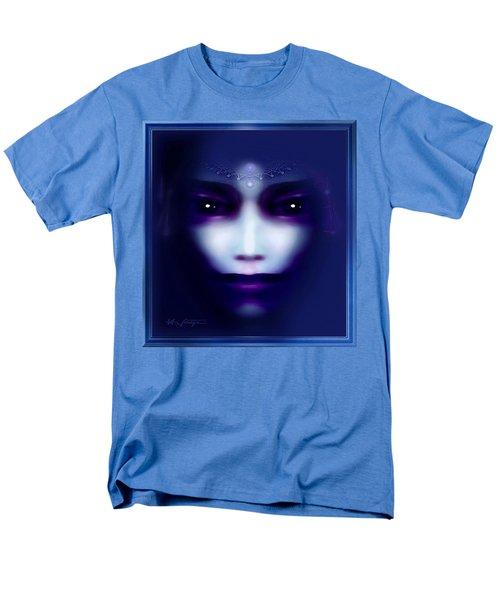 Angel  Blue Men's T-Shirt  (Regular Fit) by Hartmut Jager