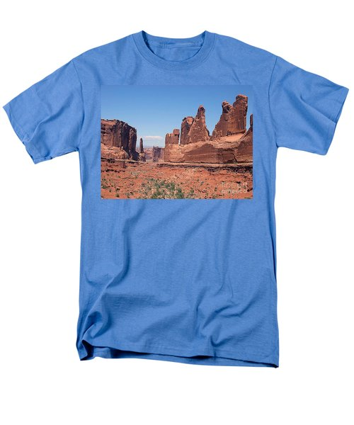 Arches National Park Panorama Men's T-Shirt  (Regular Fit) by Merton Allen