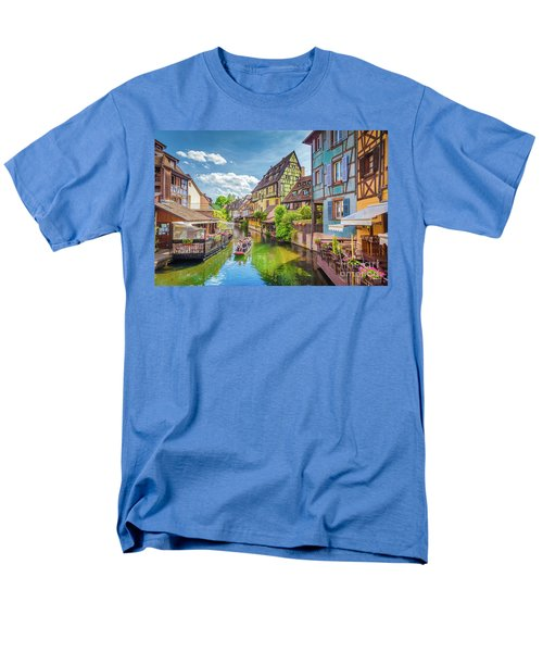 Colorful Colmar Men's T-Shirt  (Regular Fit) by JR Photography