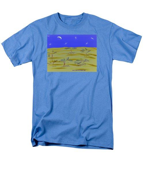 Desert Night Men's T-Shirt  (Regular Fit) by Dr Loifer Vladimir