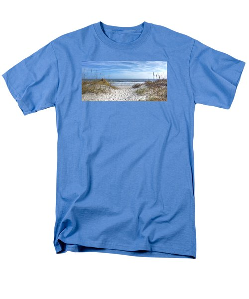 Huntington Beach South Carolina Men's T-Shirt  (Regular Fit) by Kathy Baccari