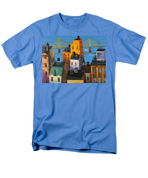 New York Men's T-Shirt  (Regular Fit) by Mikhail Zarovny