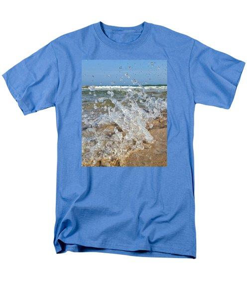 Men's T-Shirt  (Regular Fit) featuring the photograph Splash by Nikki McInnes