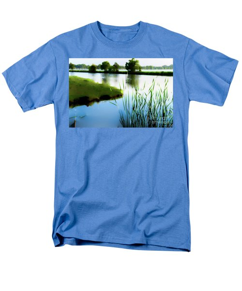 Men's T-Shirt  (Regular Fit) featuring the mixed media Summer Dreams by Betty LaRue