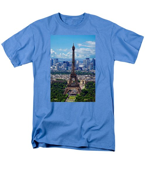 The Eiffel Tower Men's T-Shirt  (Regular Fit) by Anthony Dezenzio