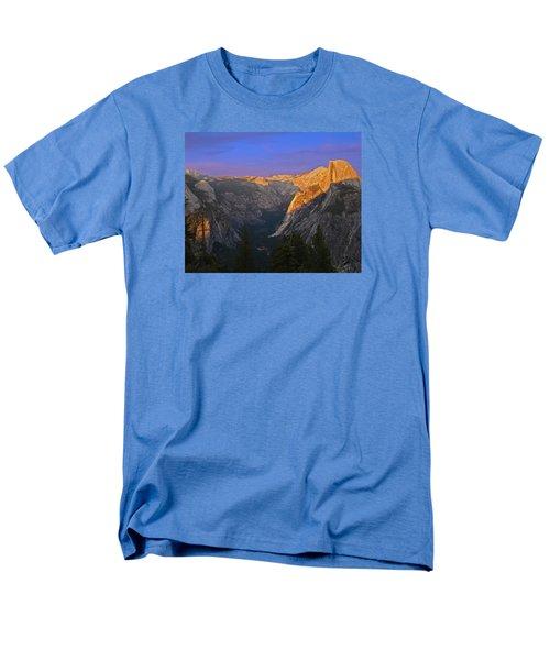 Yosemite Summer Sunset 2012 Men's T-Shirt  (Regular Fit) by Walter Fahmy