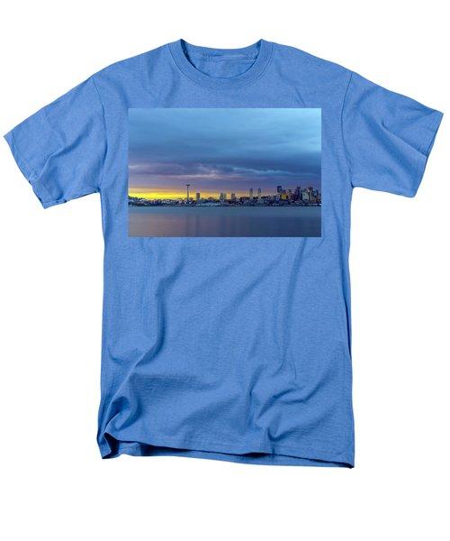 Seattle Men's T-Shirt  (Regular Fit) by Evgeny Vasenev