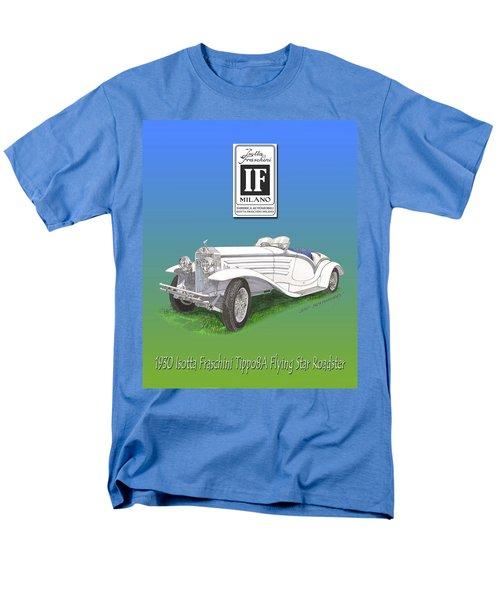 1930 Isotta Fraschini Tippo 8 A Flying Star Roadster Men's T-Shirt  (Regular Fit) by Jack Pumphrey