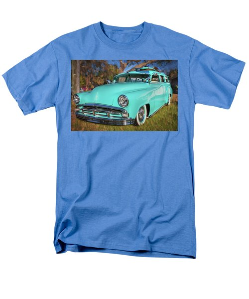 1951 Plymouth Suburban 2 Door Station Wagon 001 Men's T-Shirt  (Regular Fit) by Rich Franco