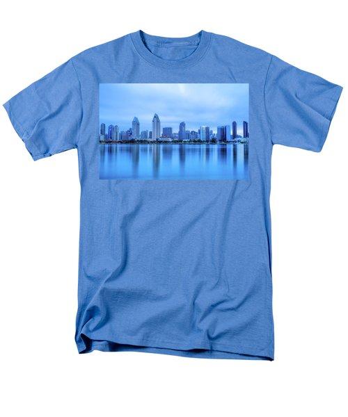 Feeling Blue Men's T-Shirt  (Regular Fit) by Joseph S Giacalone