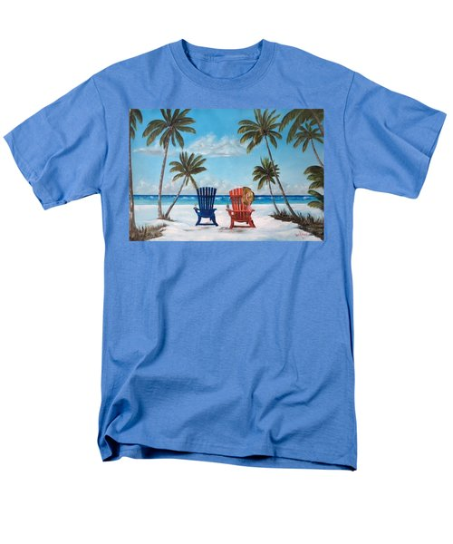 Living The Dream Men's T-Shirt  (Regular Fit) by Lloyd Dobson