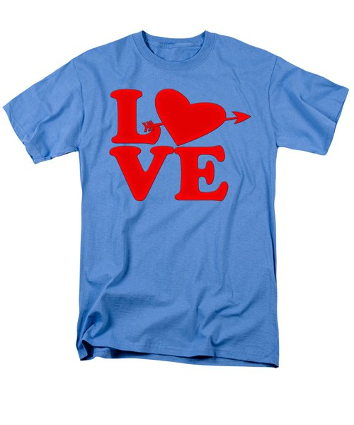 Men's T-Shirt  (Regular Fit) featuring the drawing Love by Bill Cannon