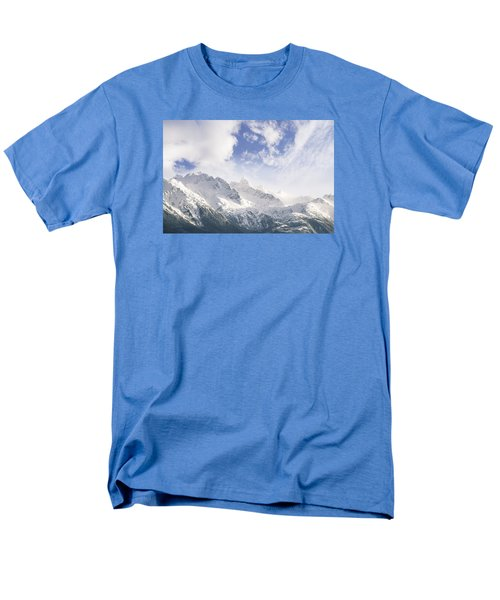 Mountains And Clouds Men's T-Shirt  (Regular Fit) by Michele Cornelius