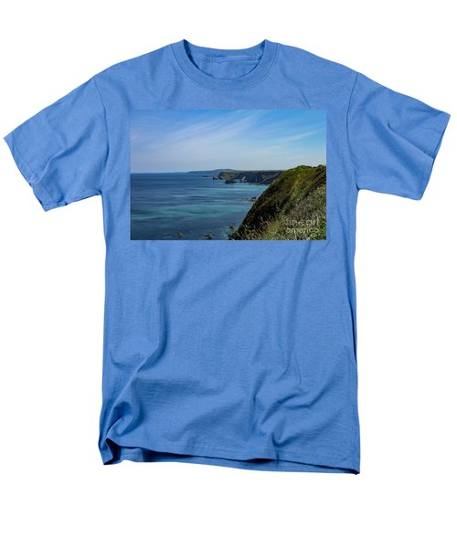 Men's T-Shirt  (Regular Fit) featuring the photograph North Coast Cornwall by Brian Roscorla
