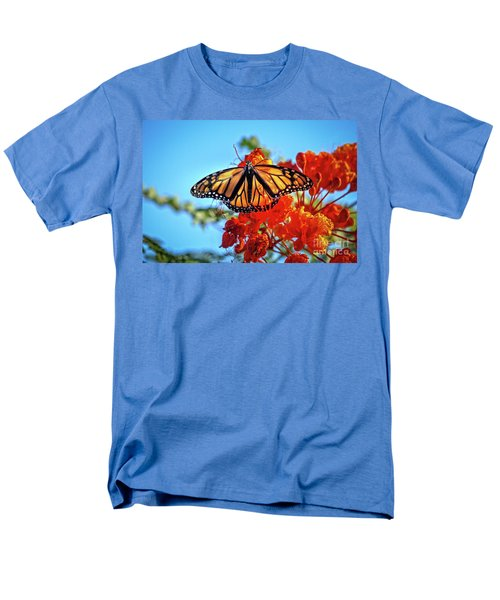 The Resting Monarch Men's T-Shirt  (Regular Fit) by Robert Bales