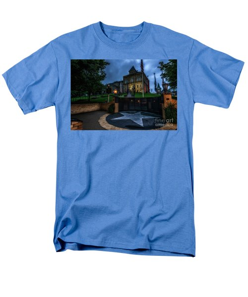 Men's T-Shirt  (Regular Fit) featuring the photograph Webster County Courthouse by Thomas R Fletcher