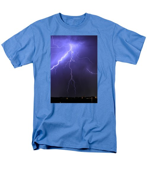 West Jordan Lightning 4 Men's T-Shirt  (Regular Fit) by Paul Marto