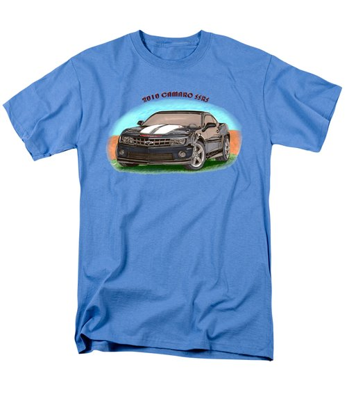 Men's T-Shirt  (Regular Fit) featuring the painting 2010 Camaro Ss  Rs by Jack Pumphrey