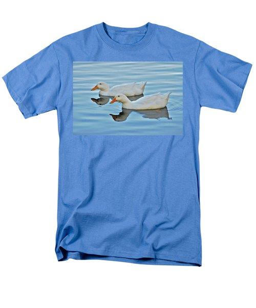 Men's T-Shirt  (Regular Fit) featuring the photograph 3- Ducks by Joseph Keane