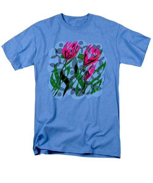 3 Posies Men's T-Shirt  (Regular Fit) by Adria Trail