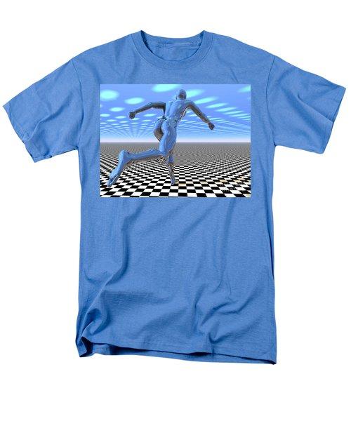 3d Runner Men's T-Shirt  (Regular Fit)