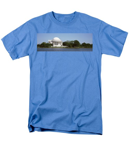 Jefferson Memorial, Washington Dc Men's T-Shirt  (Regular Fit) by Panoramic Images