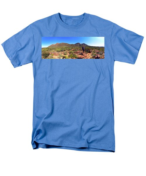 Men's T-Shirt  (Regular Fit) featuring the photograph Wilpena Pound by Bill Robinson