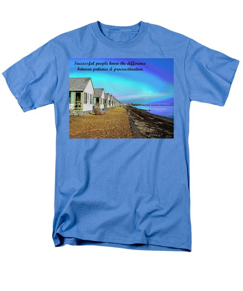 Motivational Quotes Men's T-Shirt  (Regular Fit) by Charles Shoup