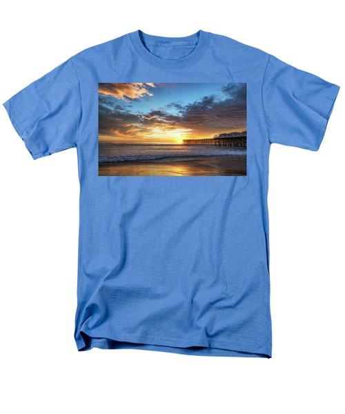 A Crystal Sunset Men's T-Shirt  (Regular Fit) by Joseph S Giacalone
