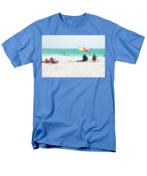 Men's T-Shirt  (Regular Fit) featuring the photograph a day at the beach IV by Hannes Cmarits