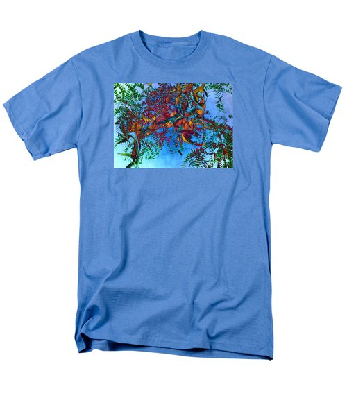 A Fabric Of Illusion Men's T-Shirt  (Regular Fit) by Roselynne Broussard