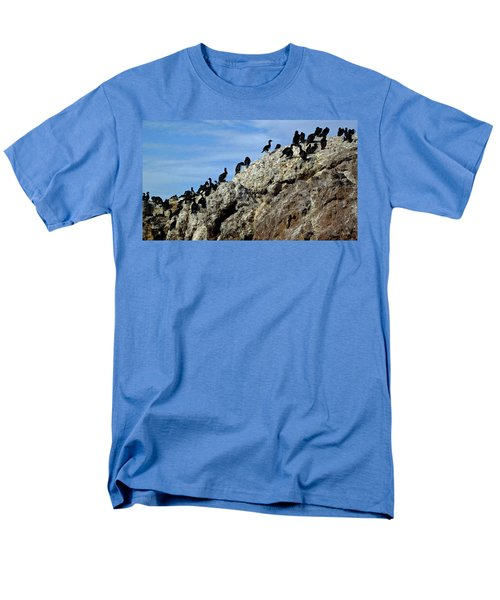 A Gulp Of Cormorants Men's T-Shirt  (Regular Fit) by Sandy Taylor