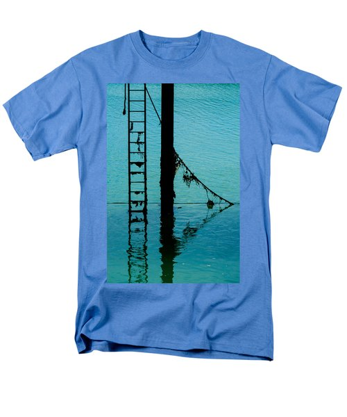 Men's T-Shirt  (Regular Fit) featuring the photograph A Modicum Of Maritime Minimalism by Chris Lord