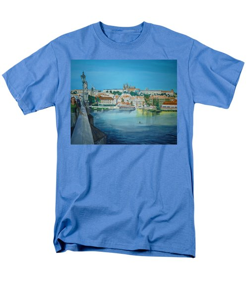 A Scene In Prague 3 Men's T-Shirt  (Regular Fit) by Bryan Bustard