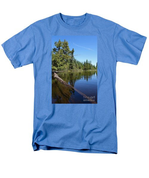 Men's T-Shirt  (Regular Fit) featuring the photograph A View From My Kayak by Sandra Updyke